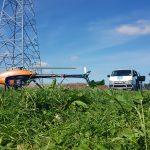 UAV potatoe fields
